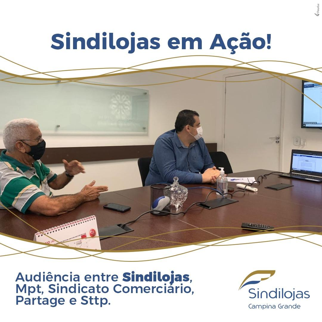 Audiência Sindilojas CG com MPT